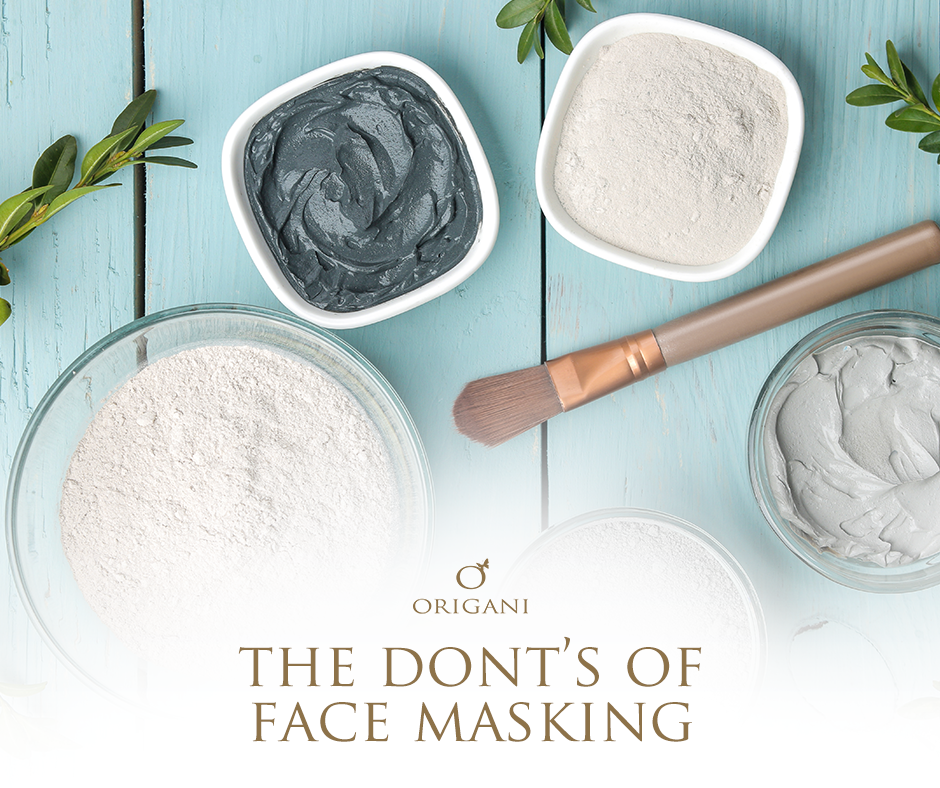 The 5 Don'ts of Face Masking