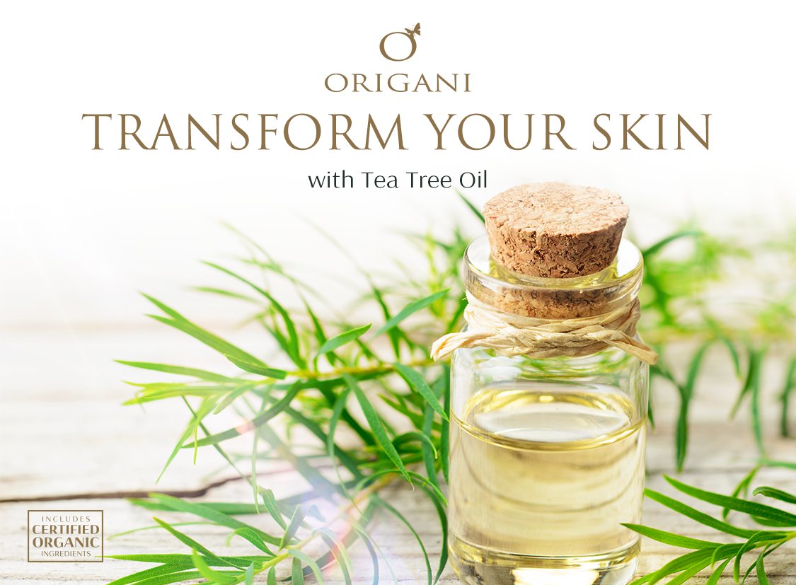A Must Use Beautifying Oil for Problem Skin: Tea Tree