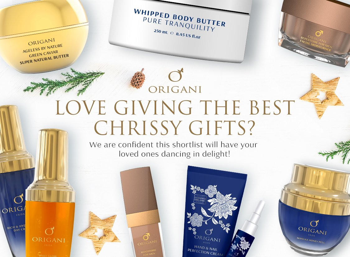 Christmas At Origani: The Top 6 Beauty Gifts To Give This Christmas!