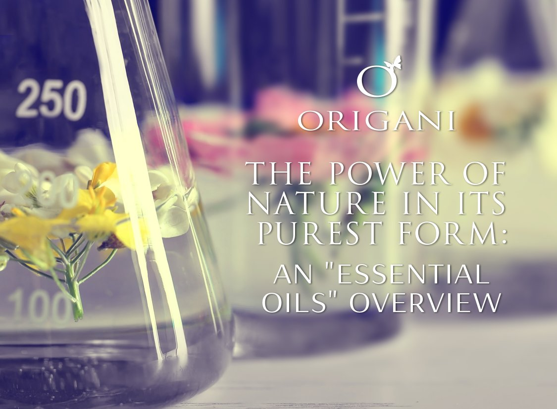 The Power Of Nature In Its Purest Form:  An 'Essential Oils' Overview