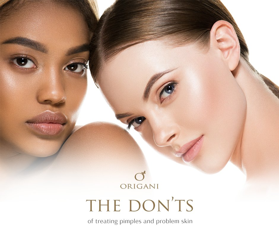 The 5 Don'ts Of Treating Acne