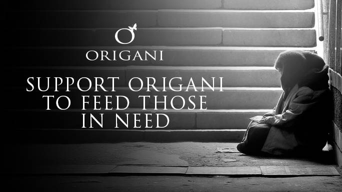 Covid-19 Food Drive for Those in Need: An Origani Fundraiser